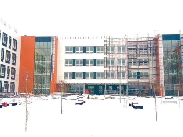 Строительство школы на 825 мест в Электростали завершено на 90%